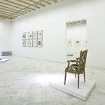 Galería M Marcos. Instalaciones exposición Brossa
